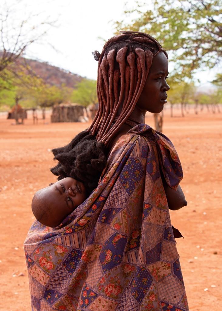 Zdjęcia: Kunene, Kunene, Kobieta z plemienia Himba, NAMIBIA