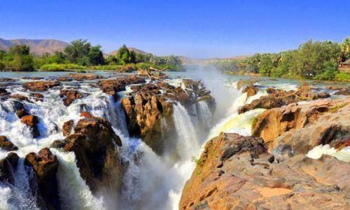 Zdjęcie NAMIBIA / Kunene / Epupa Falls / Rajskie klimaty
