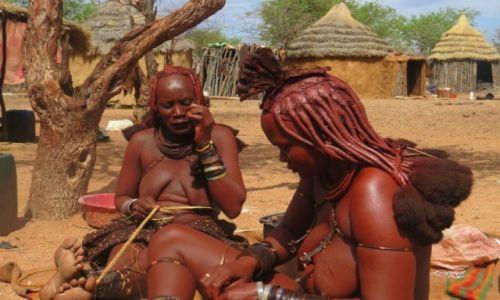 Zdjecie NAMIBIA / Namibia / Namibia / Plemię Himba