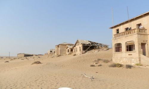 Zdjęcie NAMIBIA / Okolice Luderitz / Kolmanskop / Czasami zostaje tylko wiatr i pisaek
