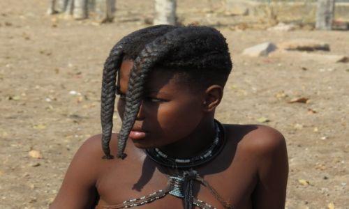 Zdjecie NAMIBIA / Opuwo / Wioska Himba / Himba