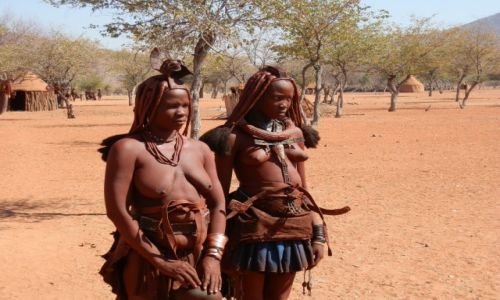 Zdjęcie NAMIBIA / Granica z Angolą / Okolice Epupa / Kobiety Himba