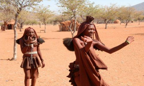 Zdjęcie NAMIBIA / Granica z Angolą / Okolice Epupa / Gościnność