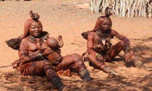 Zdjęcie NAMIBIA / Granica z Angolą / Okolice Epupa / Pogoda ducha