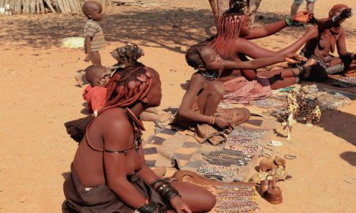 Zdjecie NAMIBIA / - / Namibia / Handel