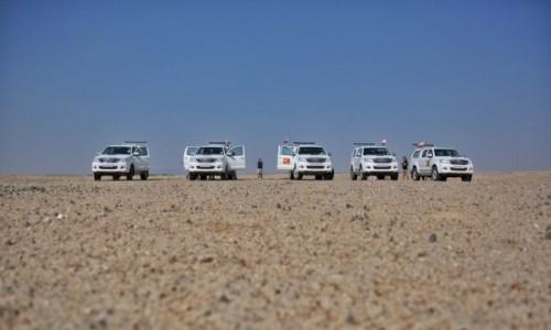 Zdjęcie NAMIBIA / Pustynia Namib / Sossusvlei / Lunch na pustyni