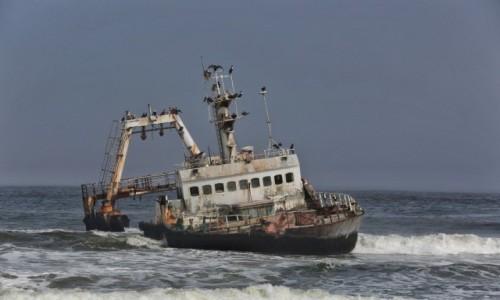 Zdjęcie NAMIBIA / Skeleton Coast / Cape Cross / Szkielet na Wybrzeżu Szkieletow