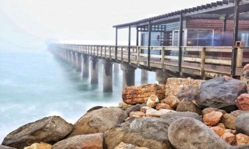 Zdjecie NAMIBIA / Skeleton Coast / Swakopmund  / Molo w Swakop