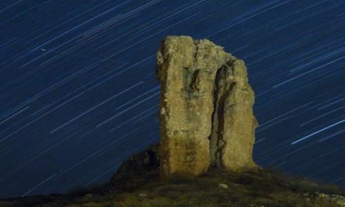 Zdjecie NAMIBIA / Kaokoland / Vingeklip Lodge / Vingerklip nocą