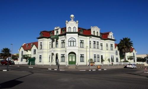 Zdjecie NAMIBIA / DOROB PARK / Swakopmund / Architektura