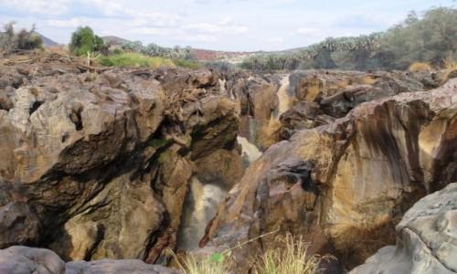 Zdjecie NAMIBIA / Kunene / Wodospady na rzece Kunene / Wodospad Epupa