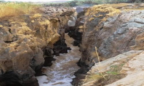 Zdjęcie NAMIBIA / Kunene / Wodospad Epupa / Wodospad Epupa