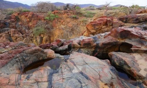 Zdjecie NAMIBIA / Kunene / Ścieżka do wodospadu Epupa / Nad Kunene