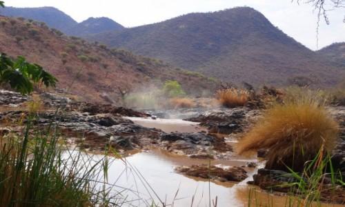 Zdjecie NAMIBIA / Kunene / rzeka Kunene /