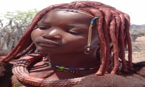 Zdjecie NAMIBIA / Kunene / wioska Himba / Piękna i poważna