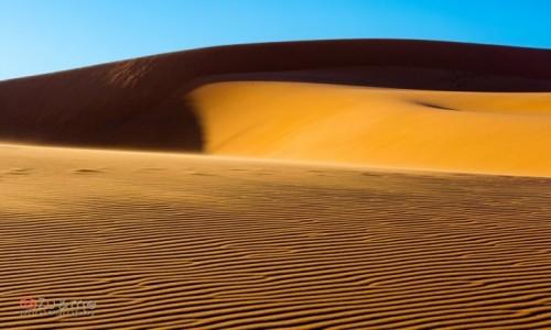 Zdjecie NAMIBIA / - / Sossusvlei / Wydmy o wschodzie słońca
