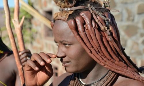 NAMIBIA / Damaraland / rejon Palmweg / Jestem piękną kobietą...