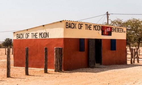 Zdjecie NAMIBIA / Kaokoland / gdzieś po drodze z Epupa Falls do Opuwo / Back of the moon