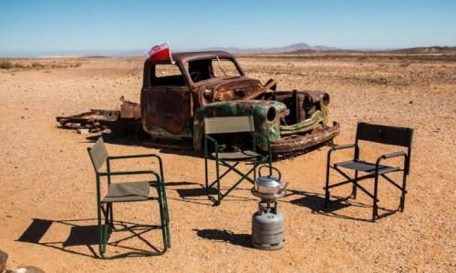 Zdjecie NAMIBIA / Sperrgebiet / gdzieś na drodze C13 / Wakacje z duchami