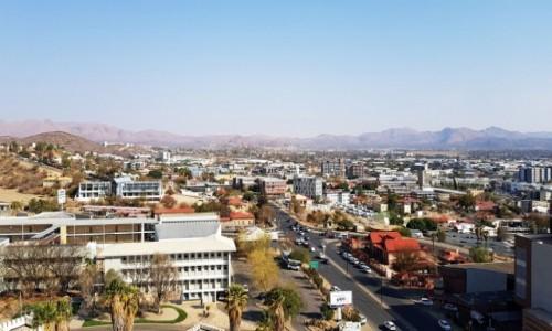 NAMIBIA / Środkowa Namibia / Miasto Windhoek / Windhoek