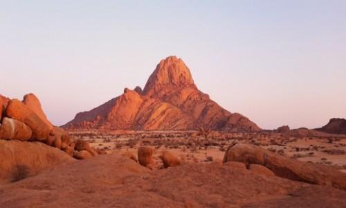 NAMIBIA / Zachodnia Namibia  / Spitzkoppe / Spitzkoppe