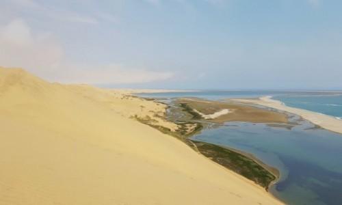 Zdjecie NAMIBIA / Zachodnia Namibia / Okolice Walvis Bay  / wydmy / Wybrzeże jak