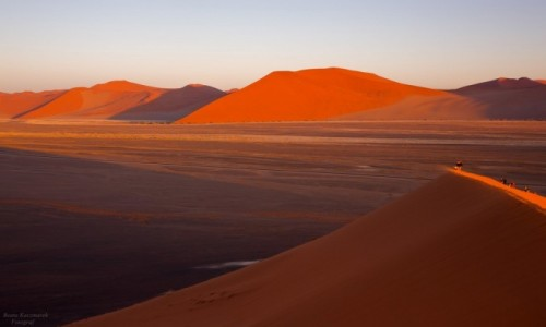 NAMIBIA / Sossusvlei / Namib / Pustynia Namib