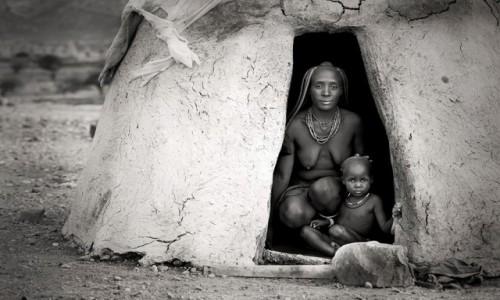 NAMIBIA / Opuwo / Opuwo / Himba