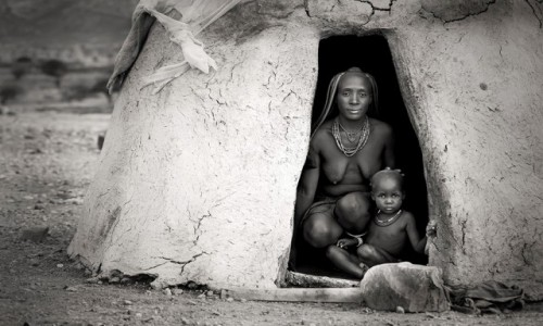 Zdjecie NAMIBIA / Opuwo / Opuwo / Himba