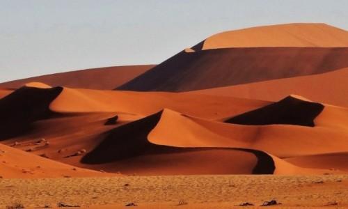 Zdjecie NAMIBIA / Namib Naukluft NP / Pustynia Namib / O zachodzie słońca