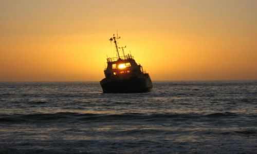 Zdjecie NAMIBIA / Swakopmund / wybrzeze Atlantyku / ostatni rejs
