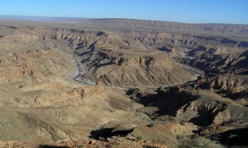 NAMIBIA / na północ od Ai-Ais / Fish River Canyon / Fish River Canyon