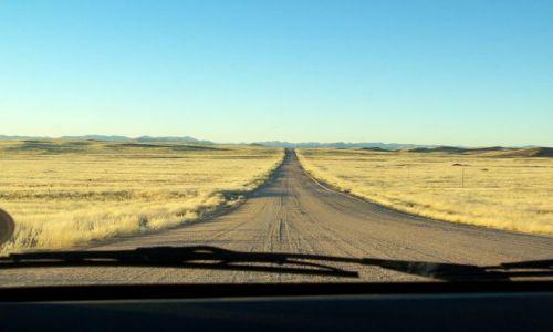 NAMIBIA / brak / w drodze do Walvis Bay / przez pustynię Namib