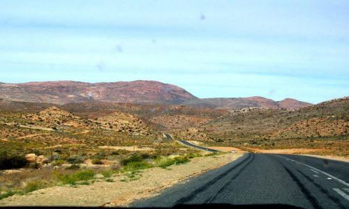 NAMIBIA / brak / na po�udnie od Grunau / w drodze do RPA