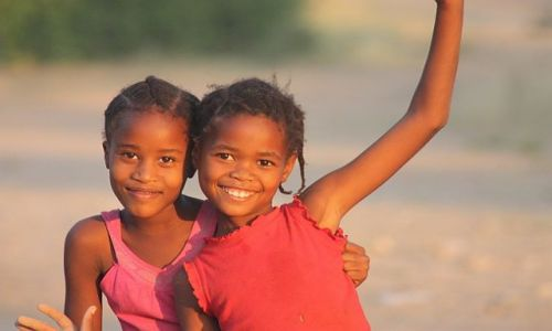 Zdjecie NAMIBIA / - / Khorixas / Siostry