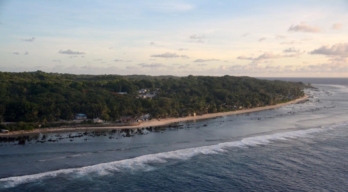 Zdjęcia: Yaren, Nauru, Pożegnanie z Nauru, NAURU