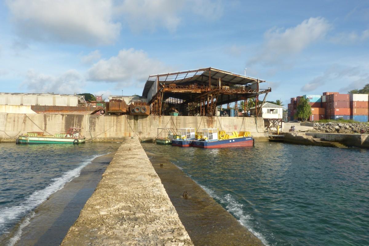 Zdjęcia: Aiwo, Nauru, Port, NAURU
