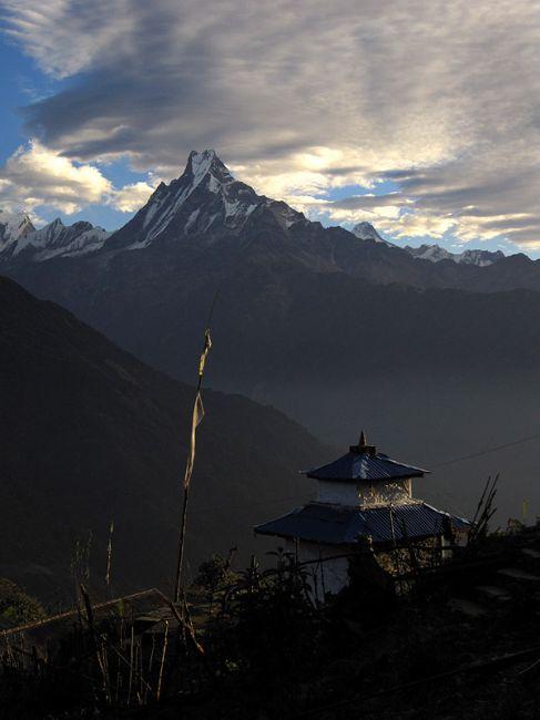 Zdjęcia: Himalaje, Annapurna Trekking, Machhapuchhare, NEPAL