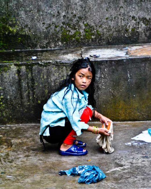 Zdjęcia: Himalaje, konkurs - Twarz dziecka, NEPAL