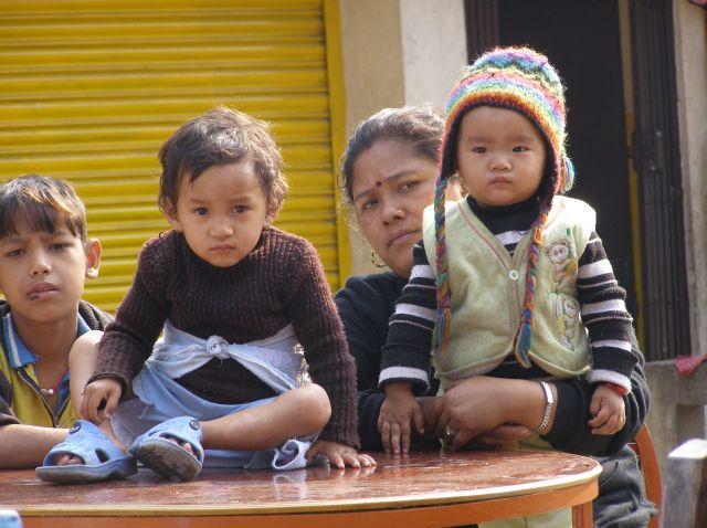 Zdjęcia: Nepal, Rodzina, NEPAL