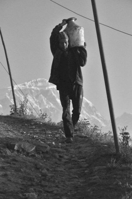 Zdjęcia: Sarangkot, W drodze na ..., NEPAL