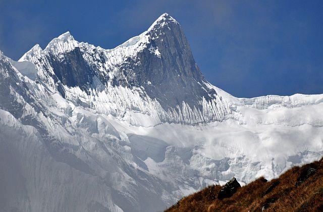 Zdjęcia: na szlaku, Annapurna, BarahaSikhar 7647m, NEPAL