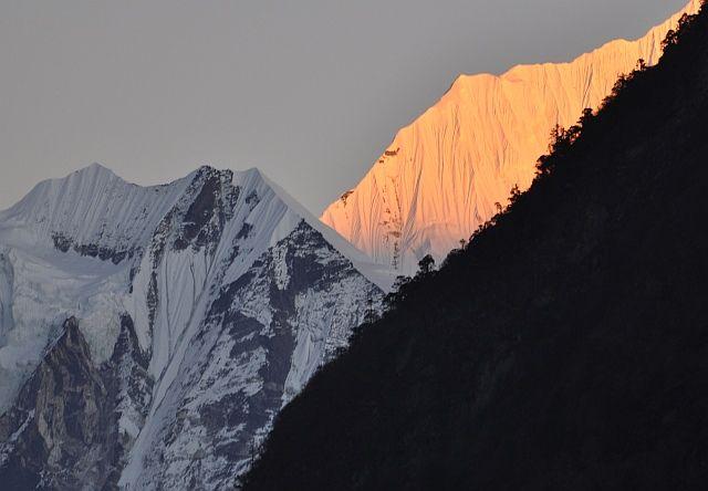Zdjęcia: Kyanjin Gompa, Langtang, trzy kolory, NEPAL