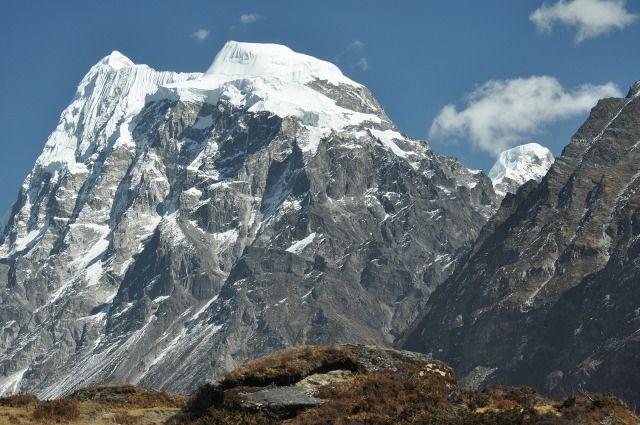 Zdjęcia: Langtang, Langtag, Langshisa Ri ( 6427m ), NEPAL