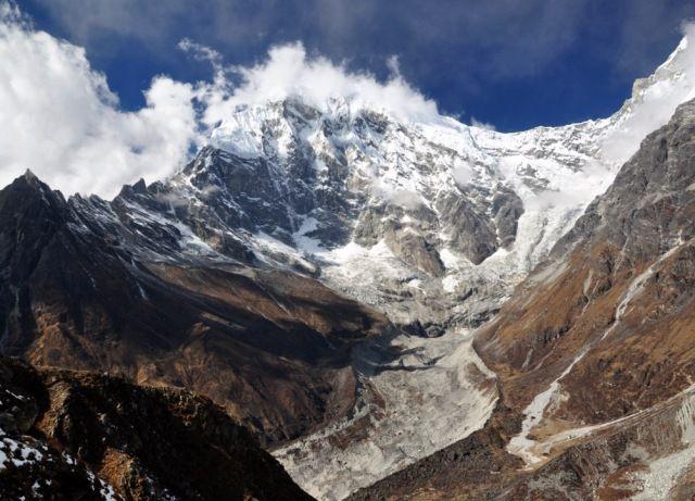Zdjęcia: ok. Kyanjin Gompa, Langtang, Langtang Lirung 7227m, NEPAL