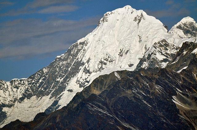 Zdjęcia: widok z Laurebina (Langtang), Ganesh Himal, Ganesh Himal IV 7052, NEPAL
