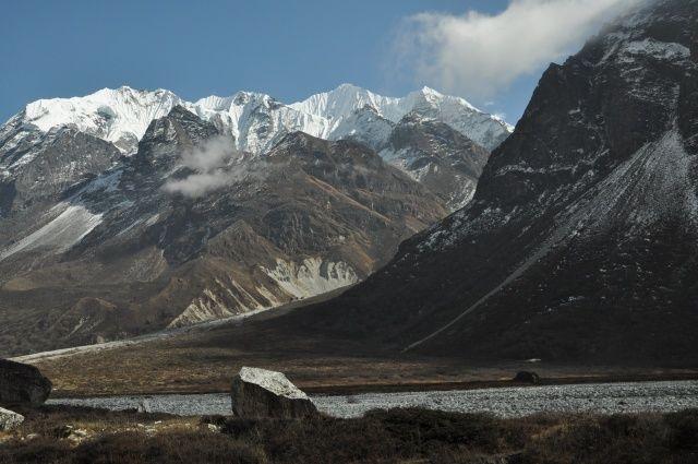 Zdjęcia: Langtang, Langtang, Ganchenpo 6387m.n.p.m, NEPAL