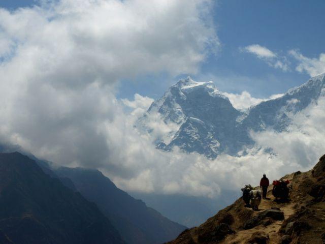 Zdjęcia: Khumbu, Khumbu-Gokyo, W drodze, NEPAL