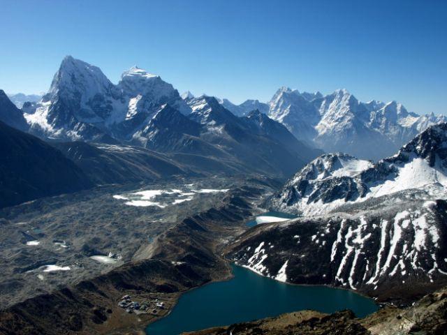 Zdjęcia: Gokyo Ri , Khumbu, Na szczycie Gokyo, NEPAL
