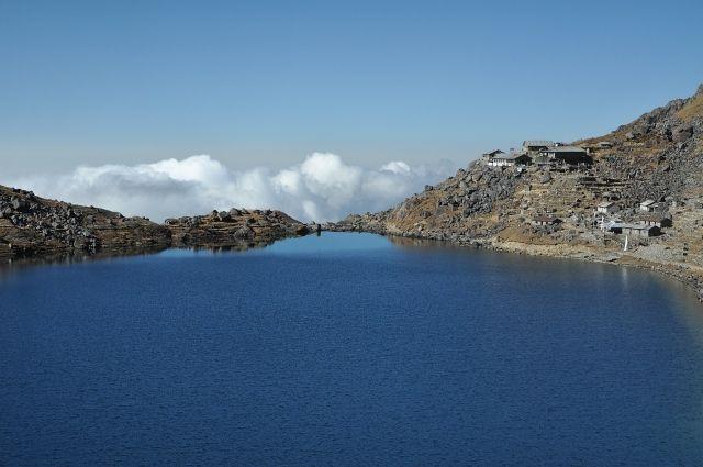 Zdjęcia: Gosainkunda, Gosainkunda 4380m.n.p.m, NEPAL